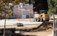 Las familias de una escuela de Calafell avisan de que el centro está en condiciones «catastróficas»