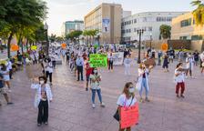 Els MIR reivindiquen millores en un acte de protesta a Imperial Tarraco