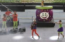 El Pot Petit saca una sonrisa a los más perqueños por la Fiesta Mayor