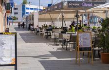 Tarragona deja de ingresar 600.000 euros al no cobrar las tasas en las terrazas