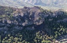 Extingit l'incendi forestal a la Ribera d'Ebre