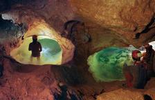 La Cova Urbana passa d'un any de rècord a un nombre reduït de visites pel virus