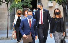 El Govern defensa la vigència del mandat de l'1-O i reclama a l'Estat que «torni al terreny de la política»