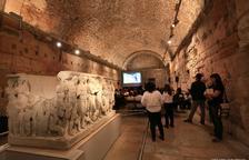 Reforçaran els murs de la Sala del Sarcòfag per evitar despreniments