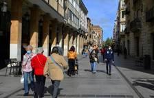 El TSJ de Castella i Lleó avala el tancament perimetral de Lleó i Palència per contenir la pandèmia