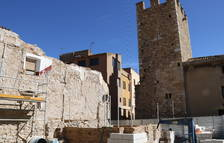 Ponen en duda la existencia de una segunda torre en el portal de Sant Francesc de Montblanc