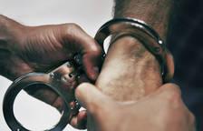 Imatge d'arxiu d'una detenció.