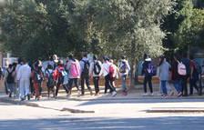 Augmenten a 1.241 els grups escolars catalans confinats per un positiu, 76 més que ahir