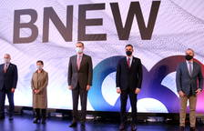 Felipe VI pide desde Barcelona mantener «una imagen de unidad» para «salir fortalecidos de la crisis»