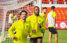 El Nàstic espera rescindir Pereira i Habran abans de començar la Lliga