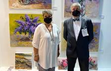 La pintora reusenca Marta Argentina participa a la Fira d'Art Internacional de Dubai