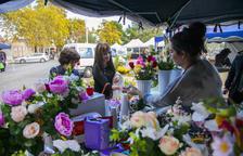 Les floristeries de Tarragona encaren el dia de Tots Sants amb molta incertesa