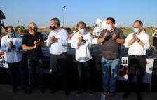 Els presos polítics refermen l'objectiu de la independència un any després de la sentència