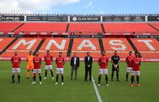 El Nàstic presenta els seus vuit fitxatges