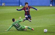 Un Barça B que encara està molt verd, primera pedra en el camí del Nàstic