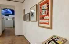 Pla general de l'exposició 'Perucho-Miró. La Fundació Miró al Vendrell?', instaurada a la Fundació Apel·les Fenosa del Vendrell.
