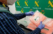 Imatge de les pastilles intervingudes.