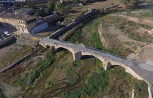 El rastro de la riada en la Conca de Barberà, un año después a vista de dron