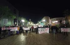 Manifestació a Tarragona contra el toc de queda i a favor de la «llibertat de mobilitat»