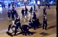 Cuatro detenidos en Barcelona en una protesta contra las medidas anticovid