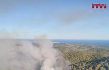 Estabilitzat l'incendi de vegetació a la zona de la Fullola de Tortosa