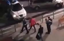 Els Mossos detenen quatre persones a una manifestació 'anti toc de queda' a Reus