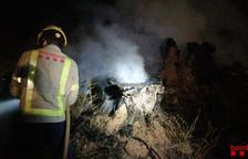 Cremen una quinzena de soques d'oliveres a Gandesa