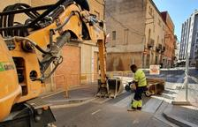 Comença la segona fase de les obres d'urbanització del Camí de Valls a Reus