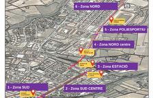 Valls aprova la construcció del carril bici entre l'estació de bus i el polígon