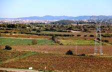 Pla general de part dels terrenys de Banyeres del Penedès on CIMALSA preveu la construcció del Logis Penedès.