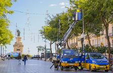 Tarragona instalará 562 luces de Navidad en 73 calles y plazas de toda la ciudad