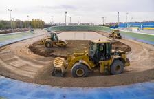 El patinòdrom de l'Anella Mediterrània estarà enllestit el 30 de novembre