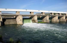 La presa de Flix desembassarà fins a 1.200 metres cúbics per segon per netejar el riu de macròfits
