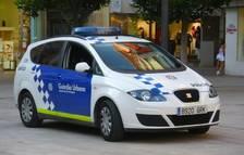 Imatge d'arxiu d'un vehicle de la Guàrdia Urbana de Tarragona.