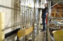 L'orgue de Valls encara el seu darrer mes de construcció a les portes de la seva presentació en públic