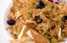 El xató, plat típic i identificatiu del Penedès.