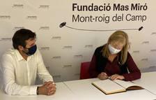 La Generalitat estudia la seva incorporació al Patronat de la Fundació Mas Miró de Mont-roig