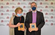 Los doctores Anna Lluch y Joan Viñas, medallas de Honor de la Xarxa Vives d'Universitats