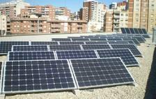 Instalación municipal de placas fotovoltaicas.