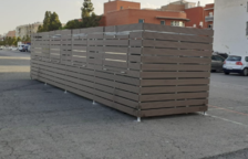 Reclama a Espimsa la iluminación de los recintos con contenedores del mercadet