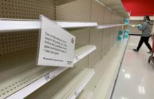 Califòrnia viu la febre del paper higiènic