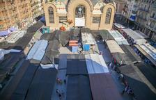 La futura pérgola de la plaza Corsini hará 30 metros de largo y cinco de ancho