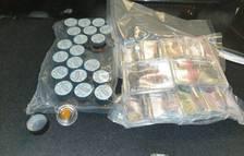 Detingut un jove a Calafell per traficar amb droga amagada en càpsules de café
