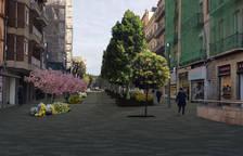 La calle Canyelles se convertirá en un espacio para peatones en el 2021