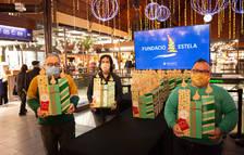 La Fundació Estela decora los Mercats de Tarragona con 60 velas artesanales