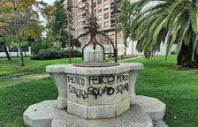 Hasta 17 monumentos de Tarragona han sufrido actos vandálicos este año