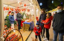 Los paradistas de la Feria de Navidad celebran un fin de semana «animado»