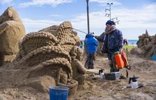 El tradicional Pessebre de Sorra torna a la platja de la Pineda