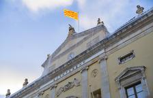 Peligro de desprendimiento por el retraso en la reforma de la cubierta del Palau Municipal de Tarragona