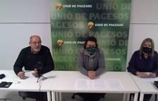 Unió de Pagesos convoca tractoradas en la demarcación de Tarragona para defender el sector